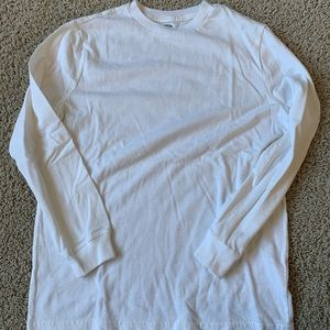 Old Navy white long sleeved top.